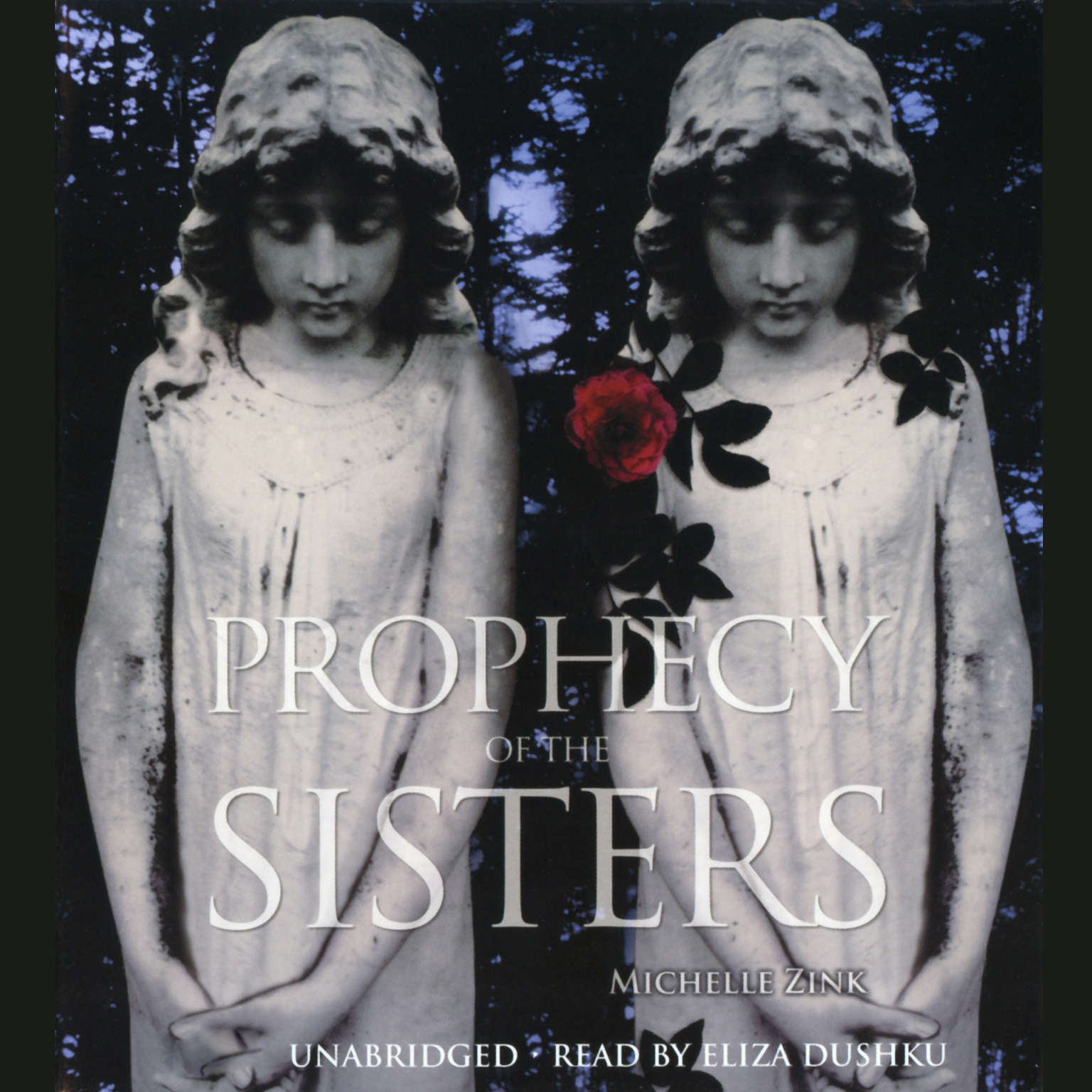 Printable Prophecy of the Sisters Audiobook Cover Art