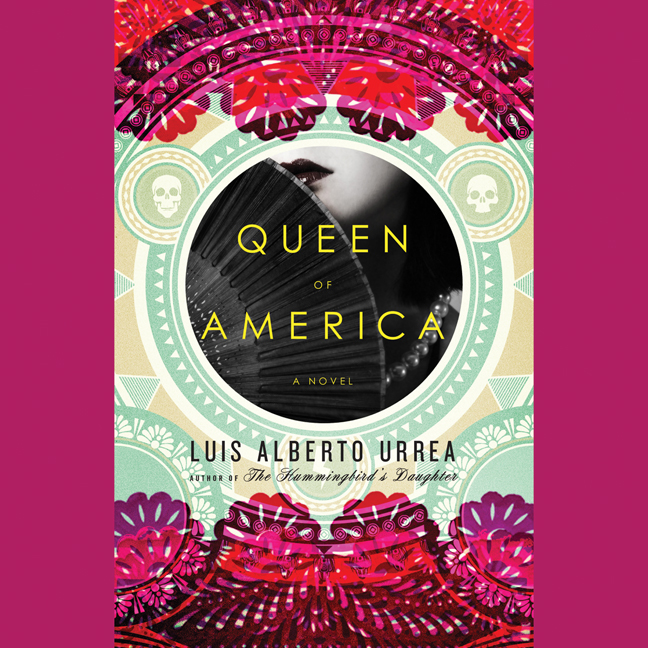 Printable Queen of America: A Novel Audiobook Cover Art