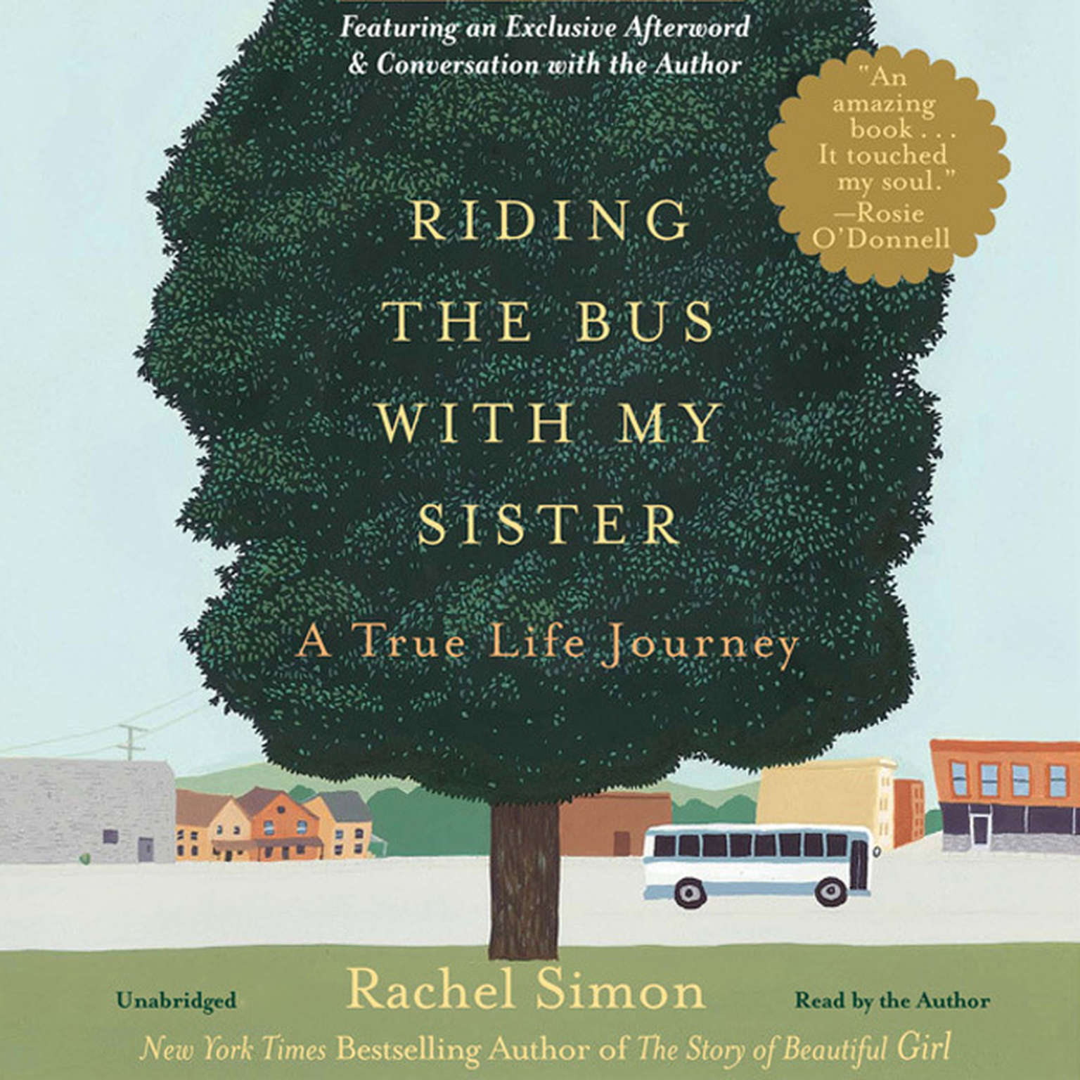 Printable Riding the Bus with My Sister: A True Life Journey Audiobook Cover Art