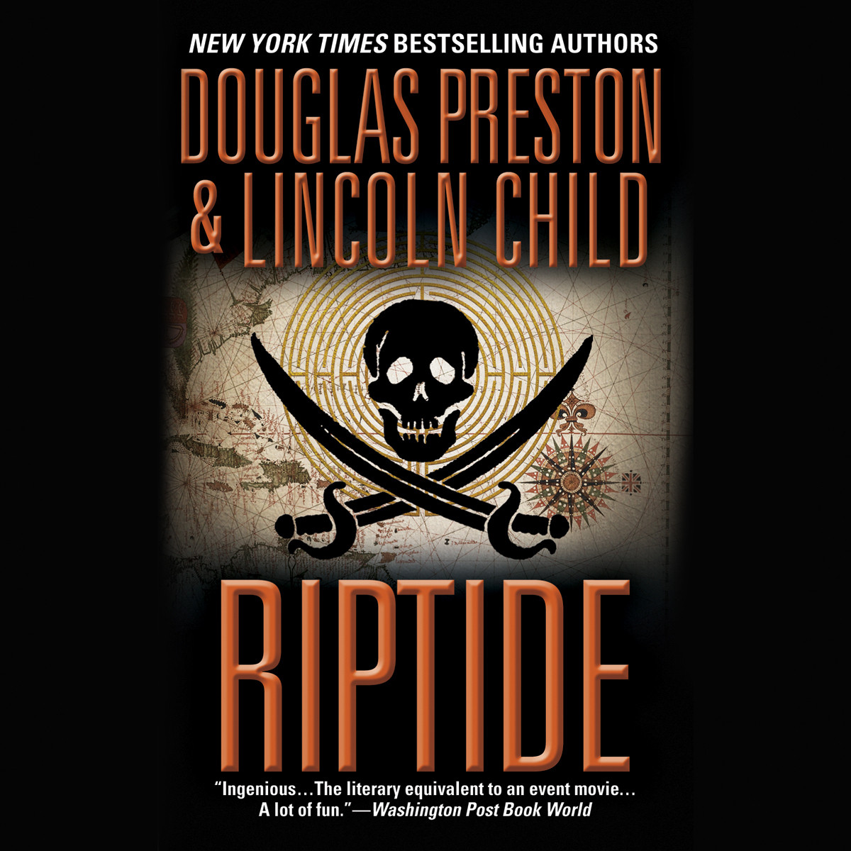 Printable Riptide Audiobook Cover Art