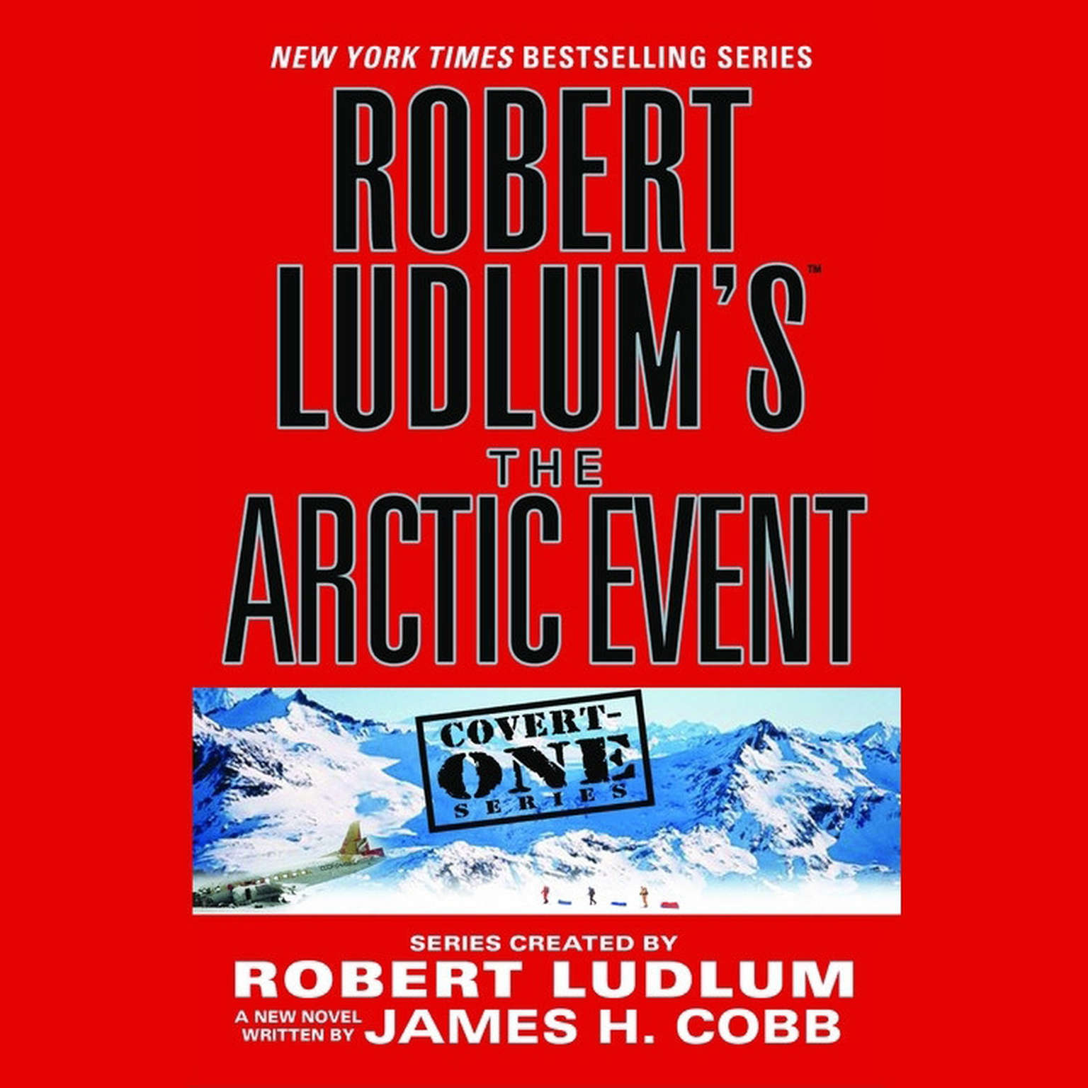 Printable Robert Ludlum's The Arctic Event Audiobook Cover Art