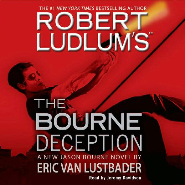Printable Robert Ludlum's The Bourne Deception Audiobook Cover Art