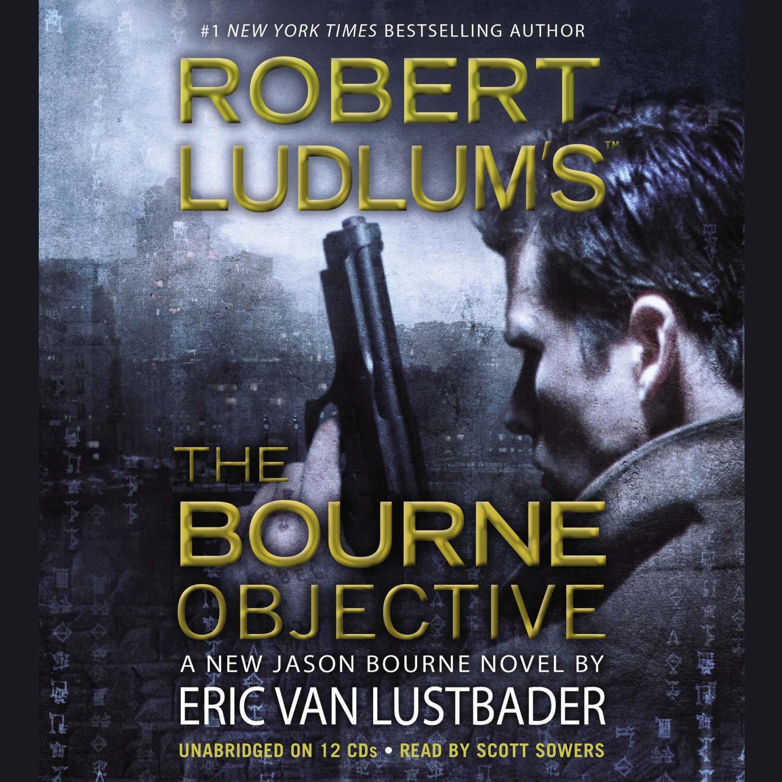 Printable Robert Ludlum's The Bourne Objective Audiobook Cover Art