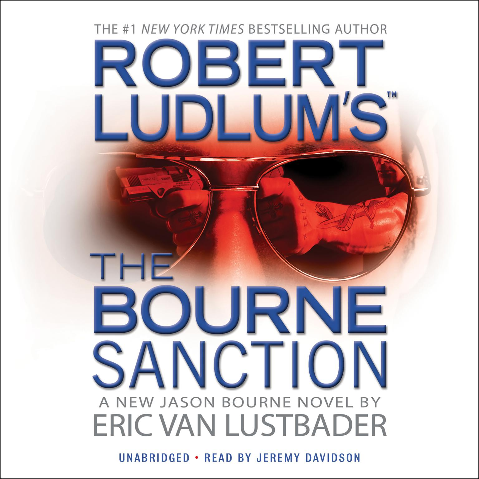 Printable Robert Ludlum's The Bourne Sanction Audiobook Cover Art