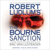 Robert Ludlum's The Bourne Sanction Audiobook, by Eric Van Lustbader