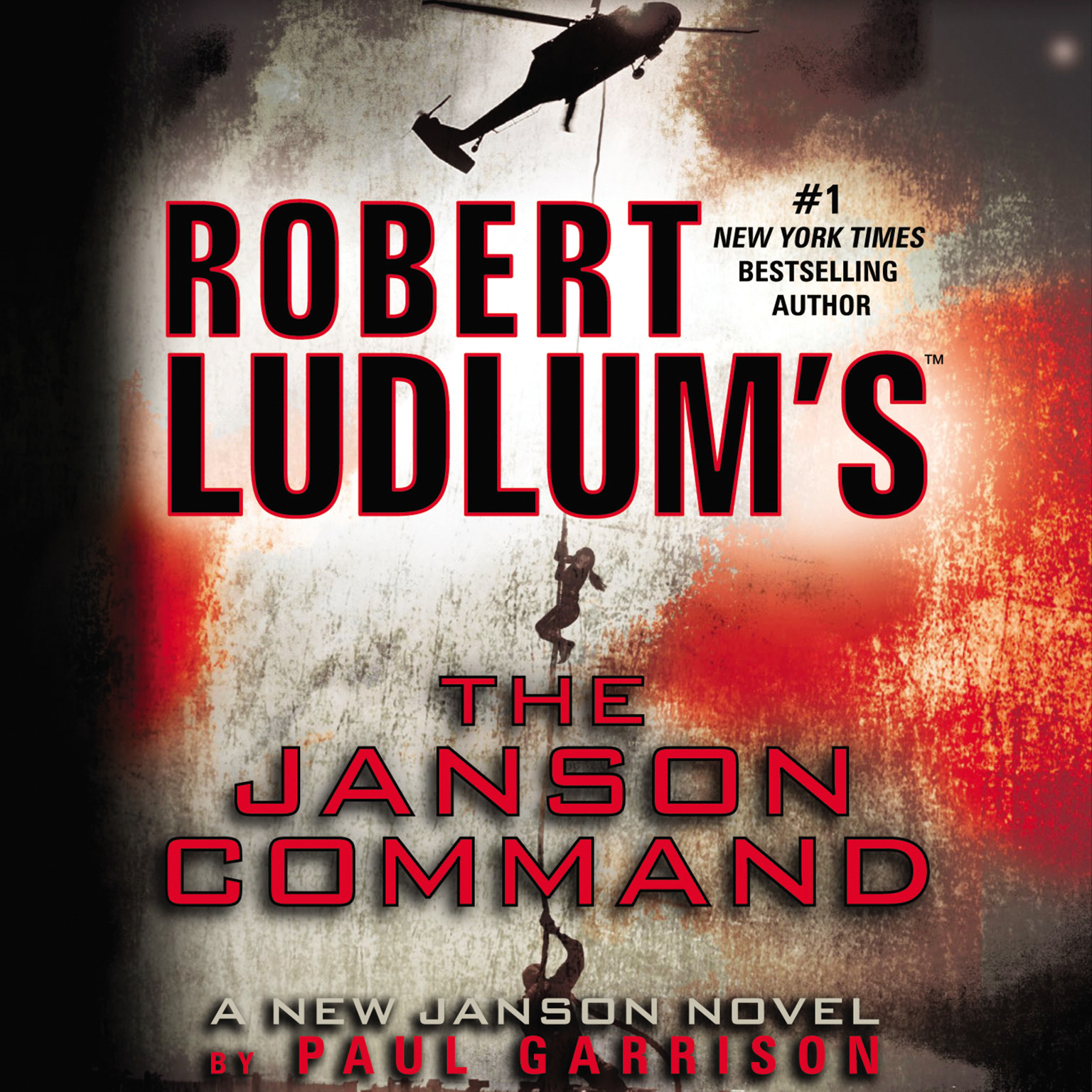 Printable Robert Ludlum's The Janson Command Audiobook Cover Art