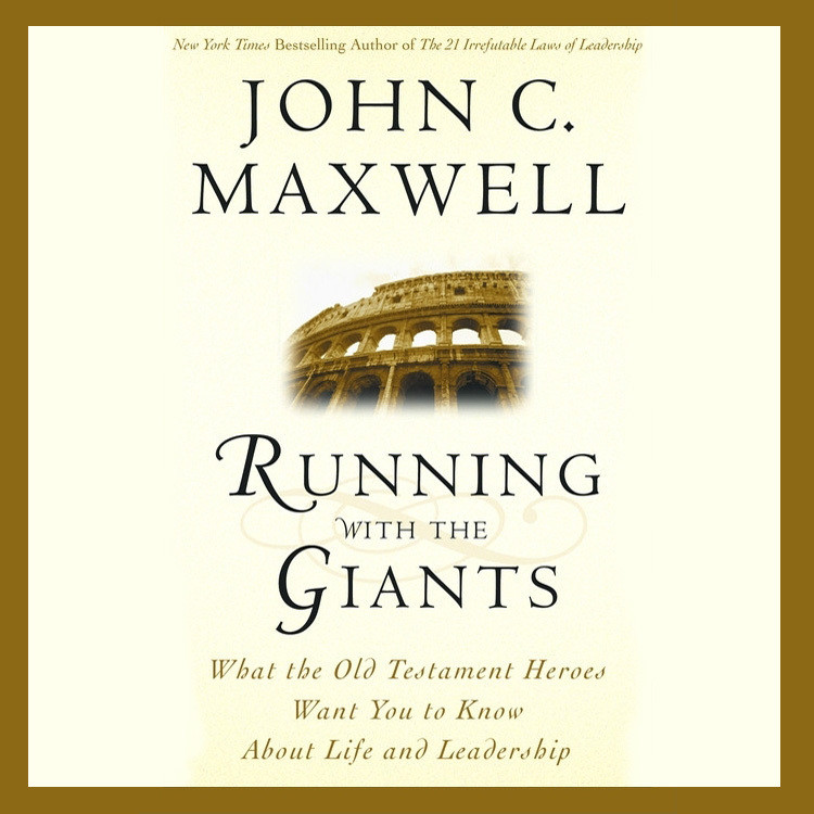 Printable Running with the Giants: What the Old Testament Heroes Want You to Know About Life and Leadership Audiobook Cover Art