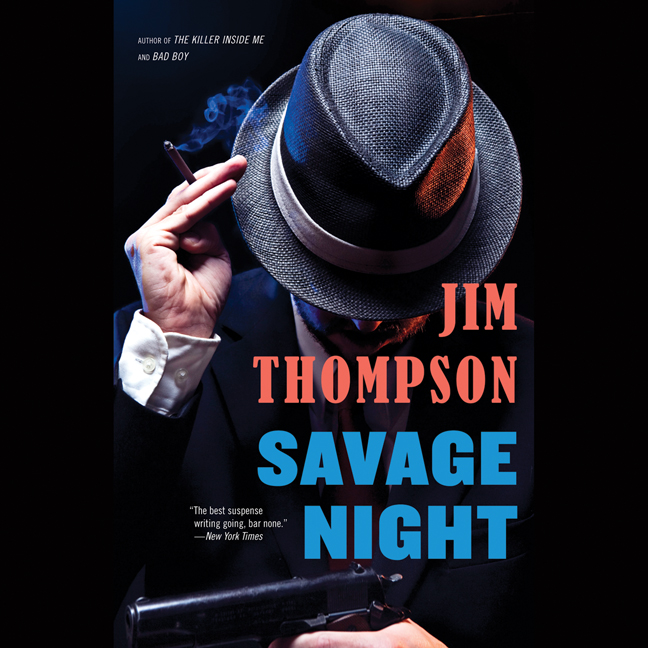 Printable Savage Night Audiobook Cover Art