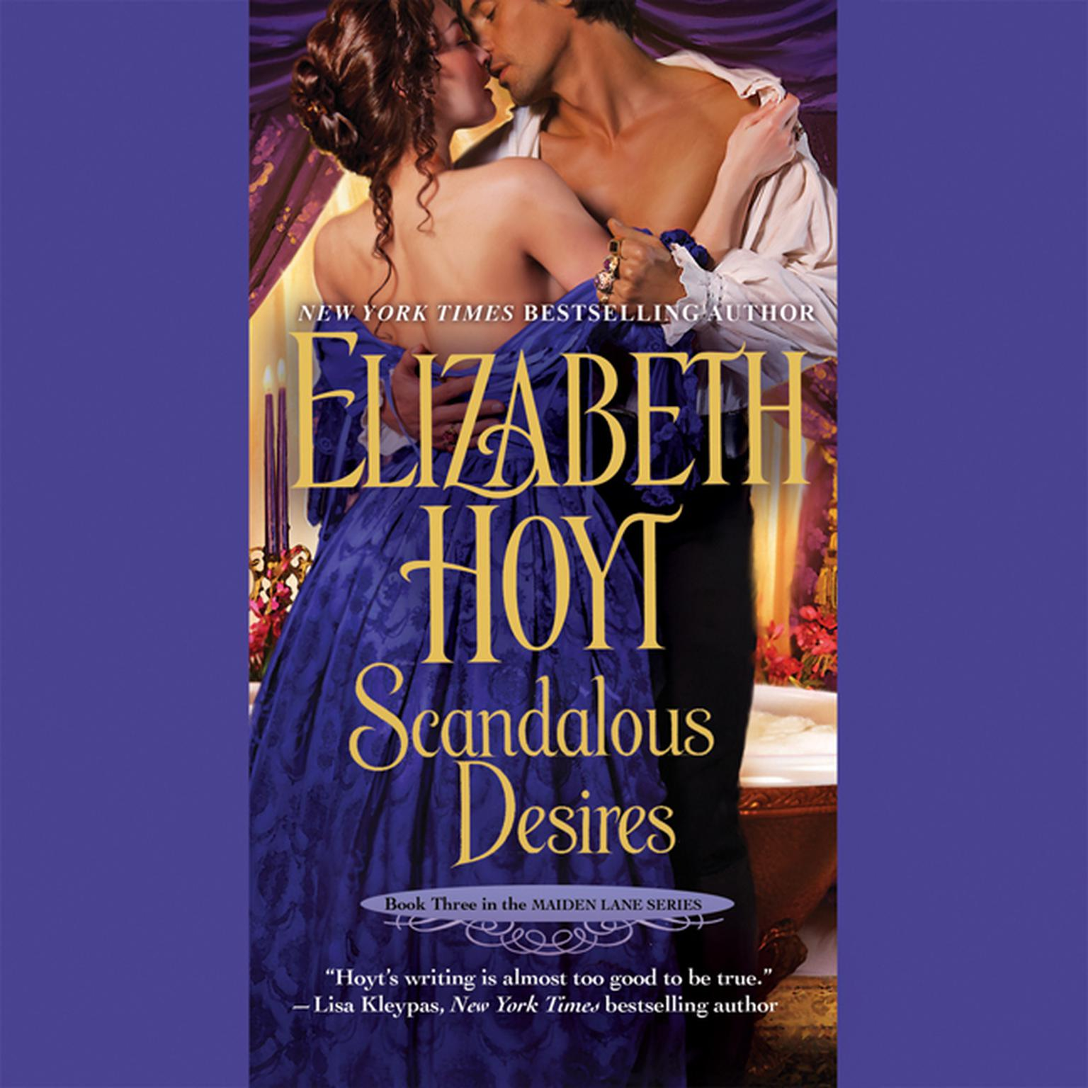 Printable Scandalous Desires Audiobook Cover Art