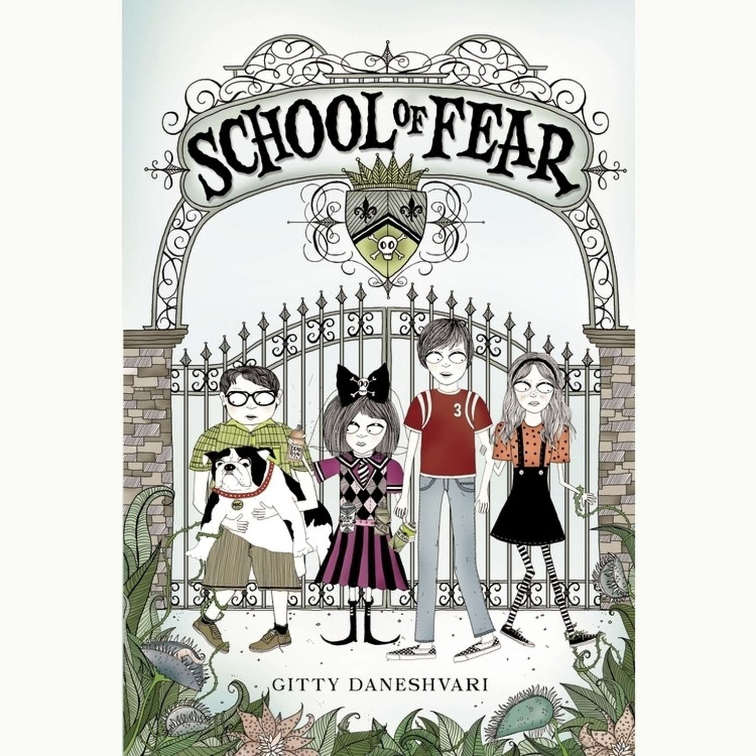 Printable School of Fear Audiobook Cover Art