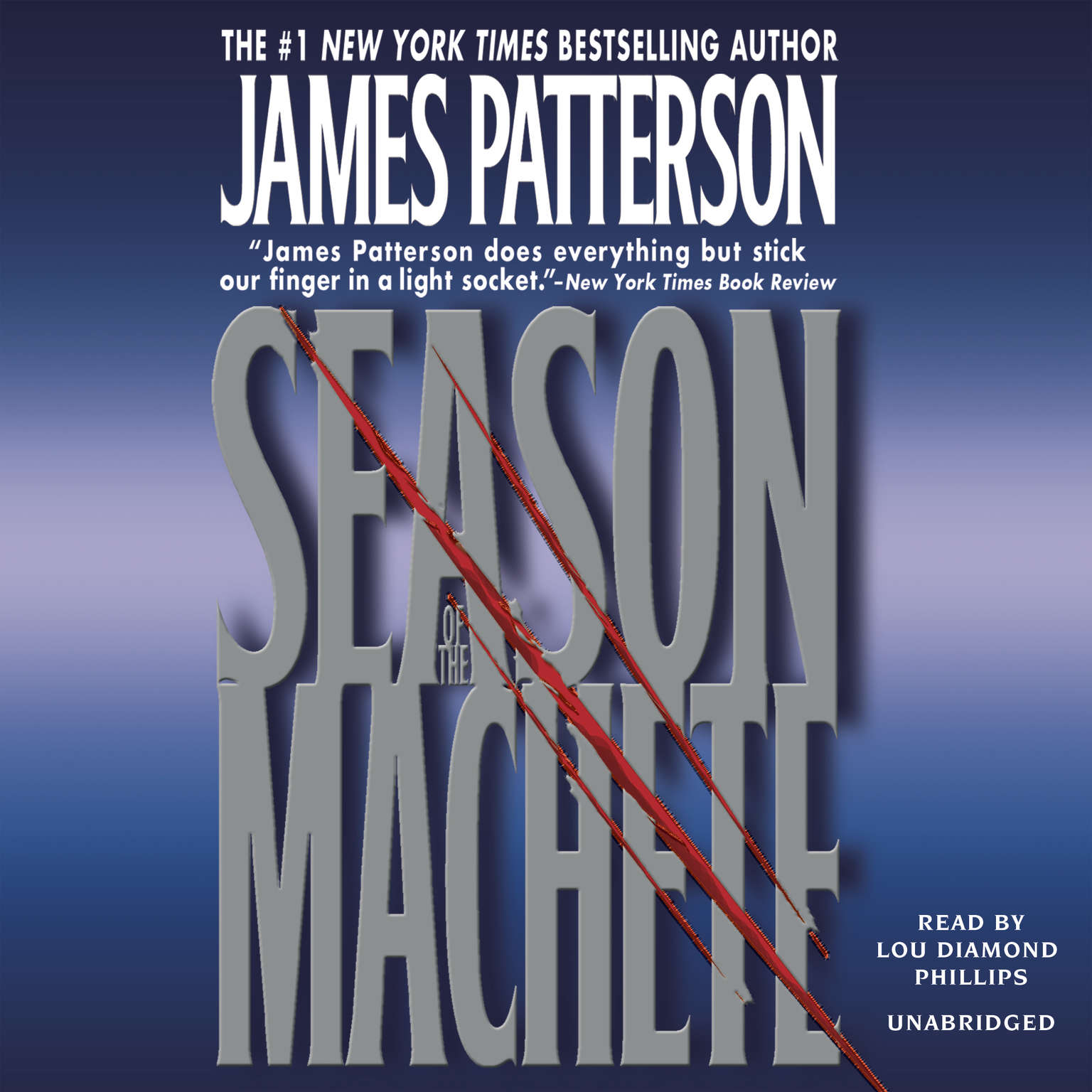 Printable Season of the Machete Audiobook Cover Art