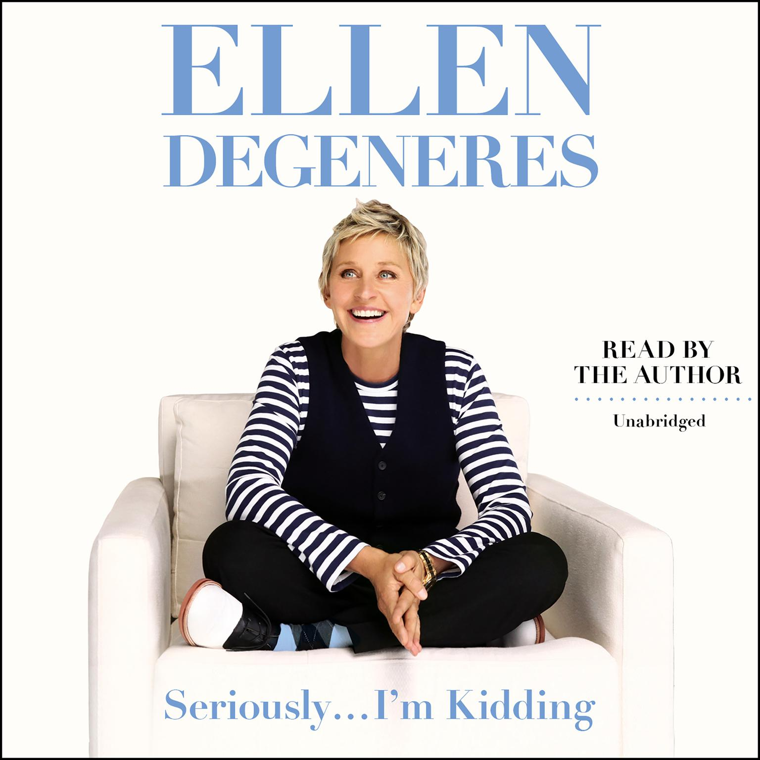 Printable Seriously…I'm Kidding Audiobook Cover Art
