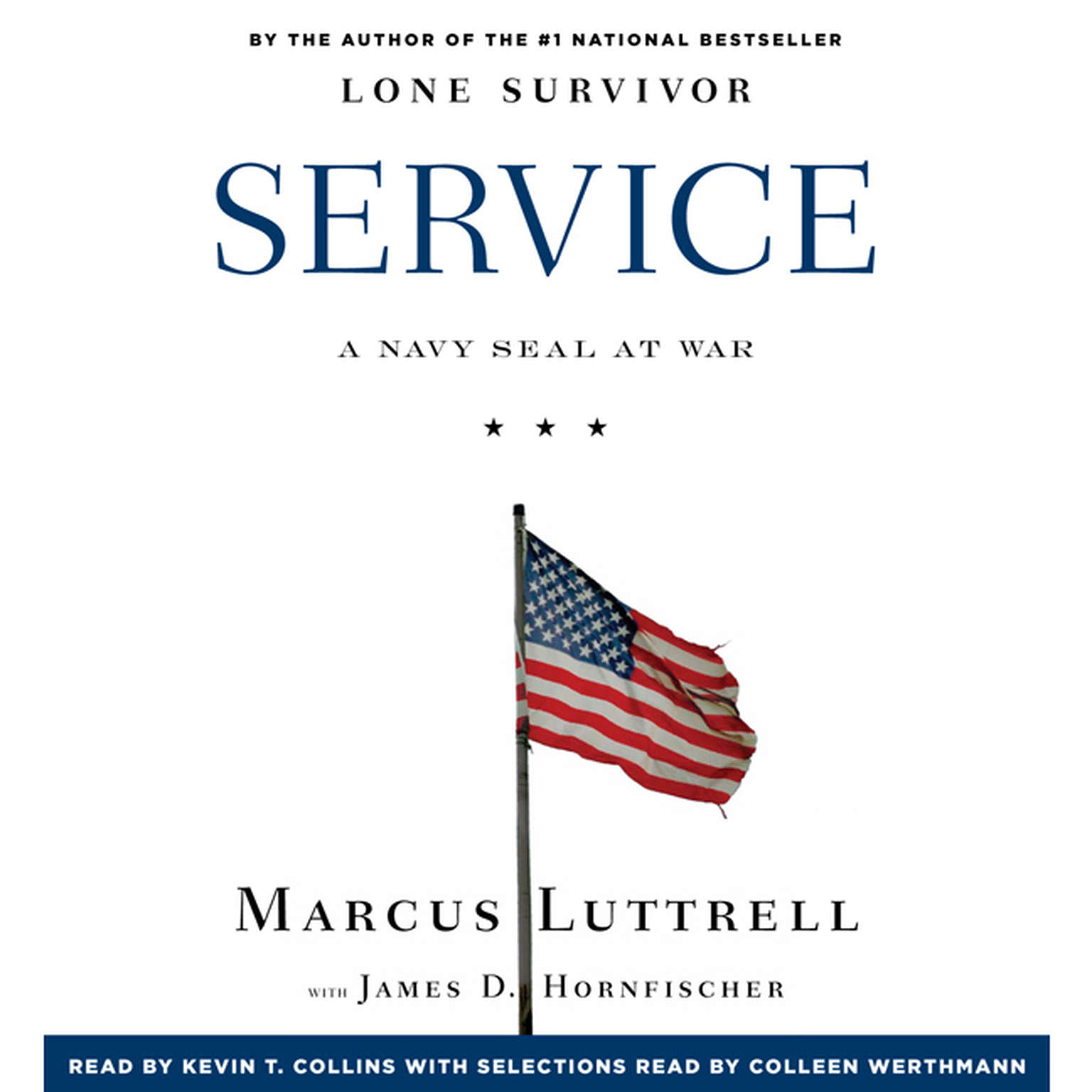 Printable Service: A Navy SEAL at War Audiobook Cover Art