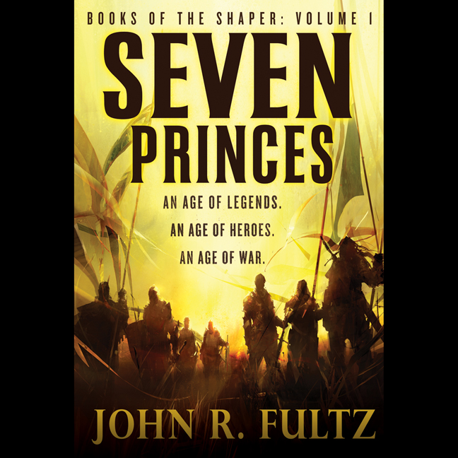 Printable Seven Princes Audiobook Cover Art