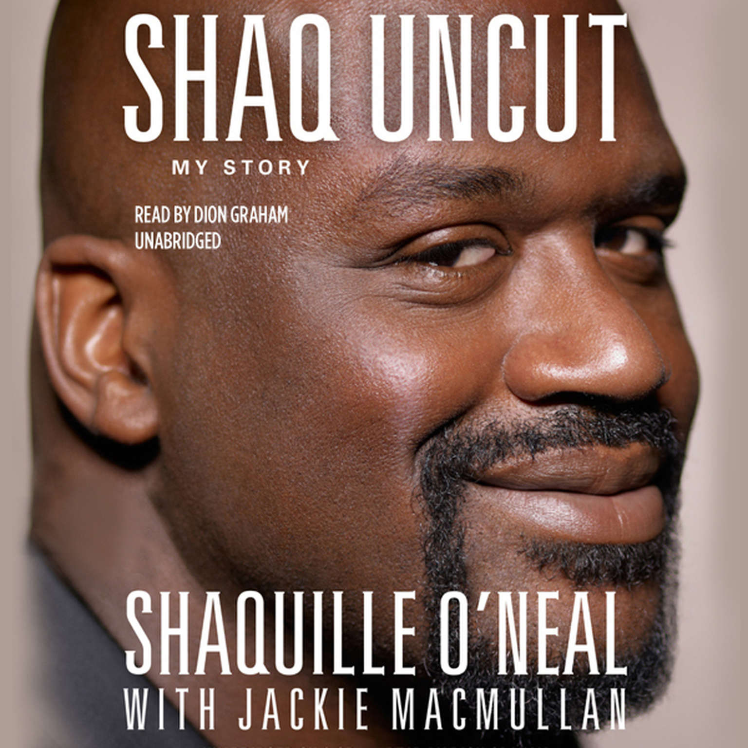 Printable Shaq Uncut: My Story Audiobook Cover Art