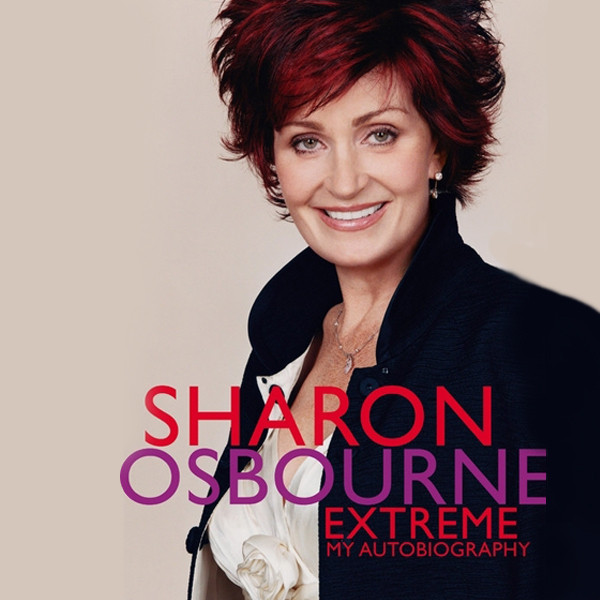 Printable Sharon Osbourne Extreme: My Autobiography Audiobook Cover Art