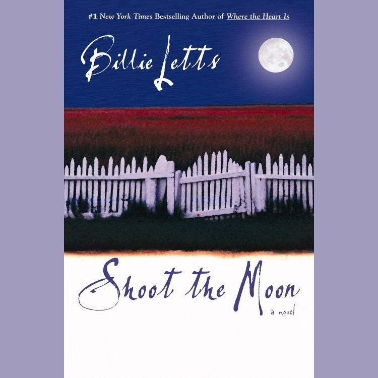 Printable Shoot the Moon Audiobook Cover Art
