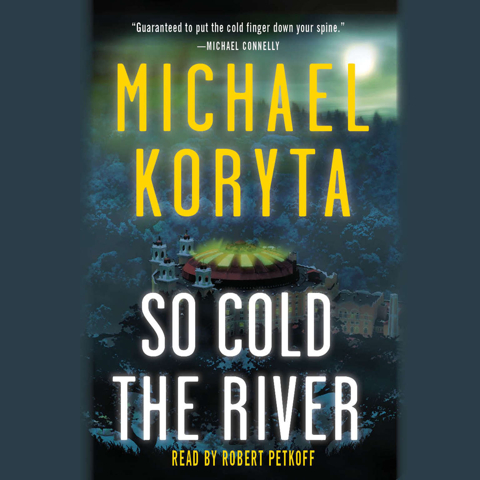 Printable So Cold the River Audiobook Cover Art