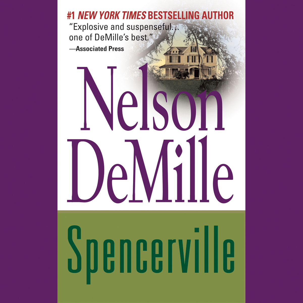 Printable Spencerville Audiobook Cover Art