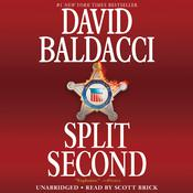 Split Second Audiobook, by David Baldacci