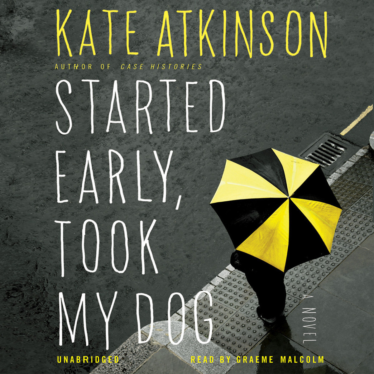 Printable Started Early, Took My Dog: A Novel Audiobook Cover Art