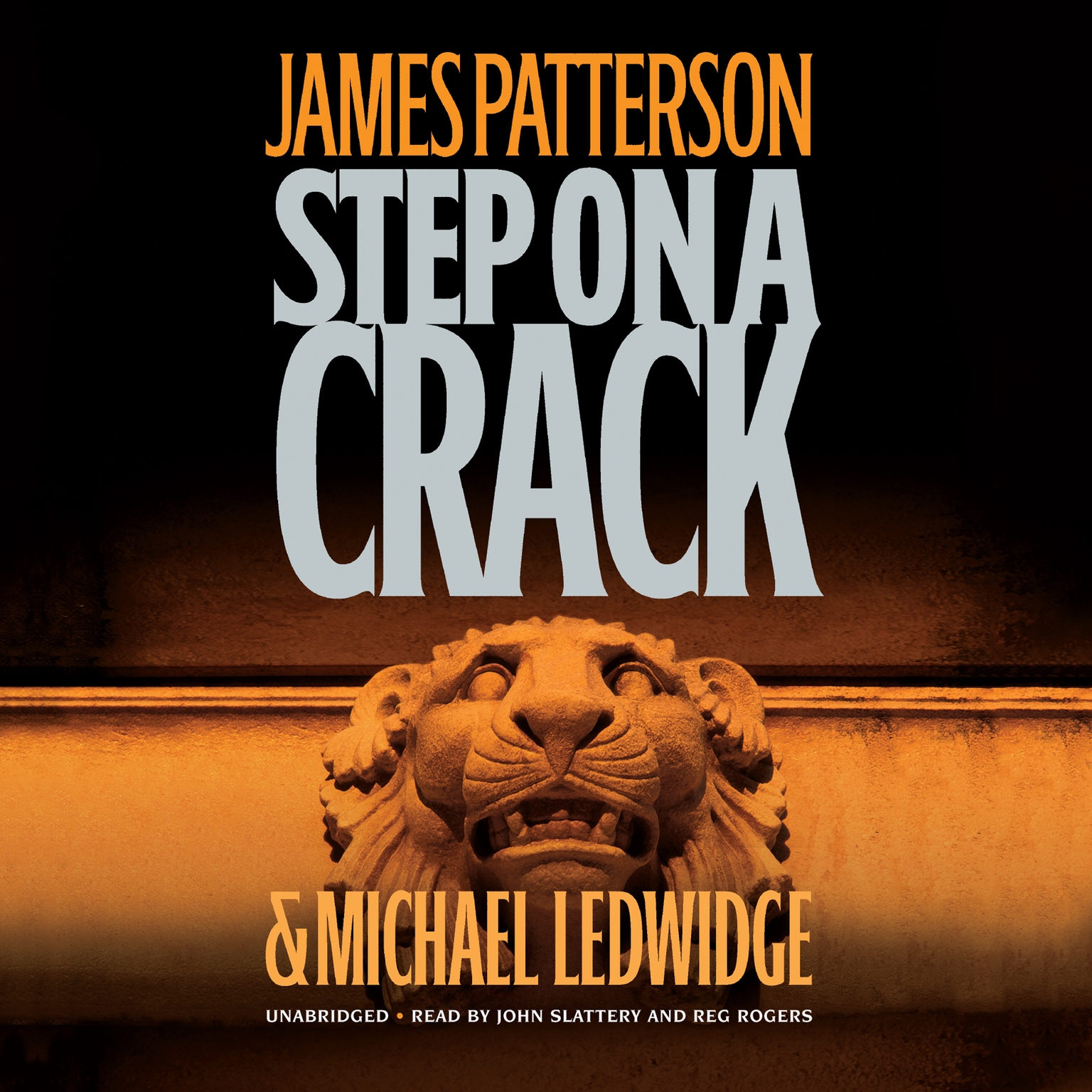 Printable Step on a Crack Audiobook Cover Art