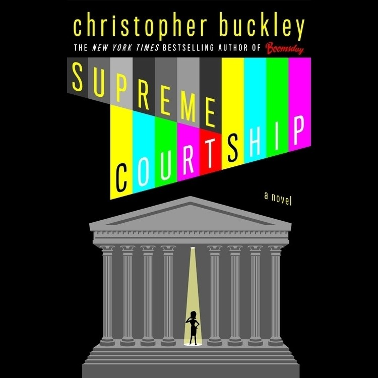 Printable Supreme Courtship Audiobook Cover Art