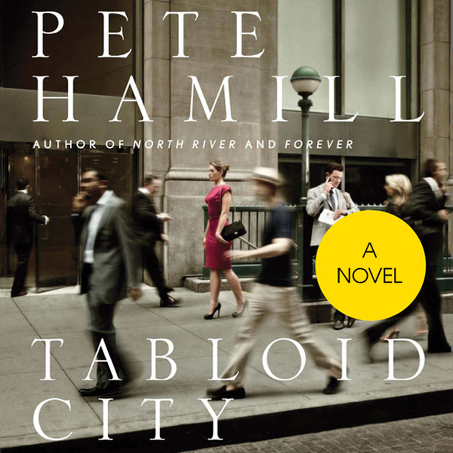 Printable Tabloid City: A Novel Audiobook Cover Art