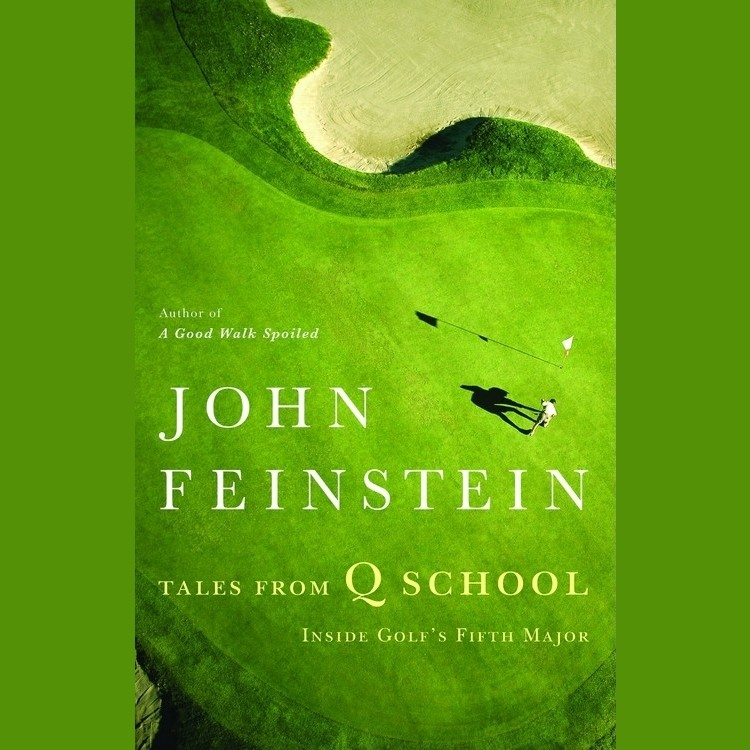 Printable Tales from Q School: Inside Golf's Fifth Major Audiobook Cover Art
