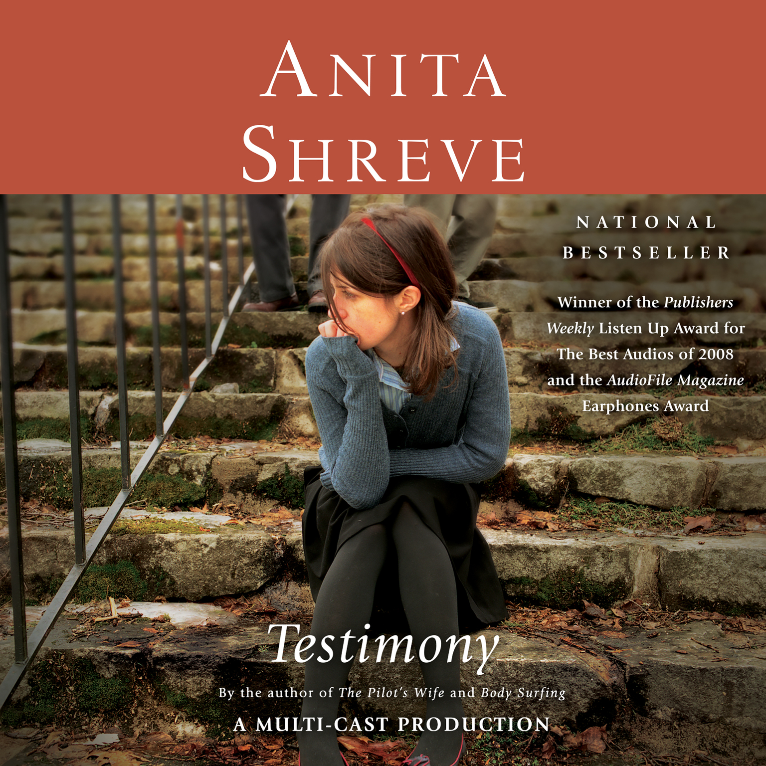 Printable Testimony: A Novel Audiobook Cover Art