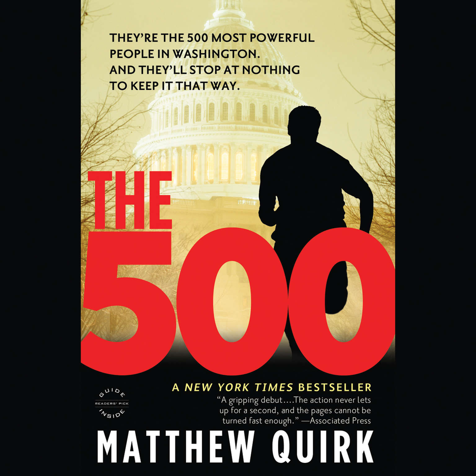 Printable The 500: A Novel Audiobook Cover Art