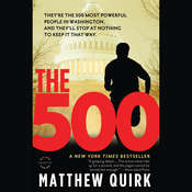 The 500: A Novel Audiobook, by Matthew Quirk