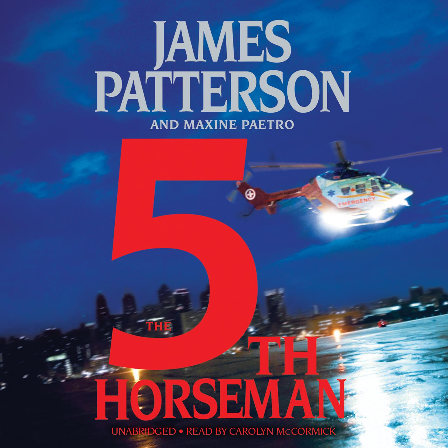 Printable The 5th Horseman Audiobook Cover Art