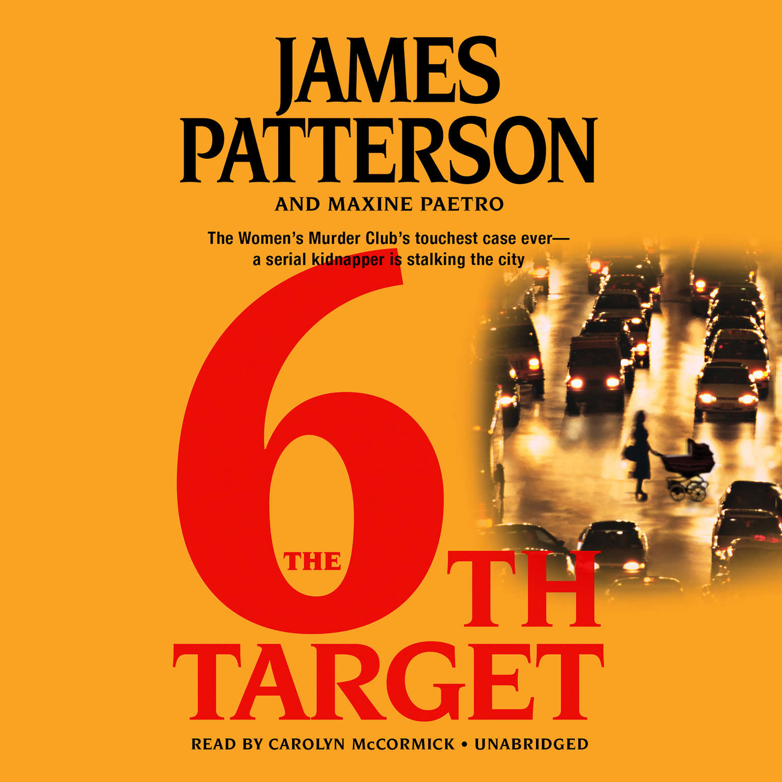 Printable The 6th Target Audiobook Cover Art