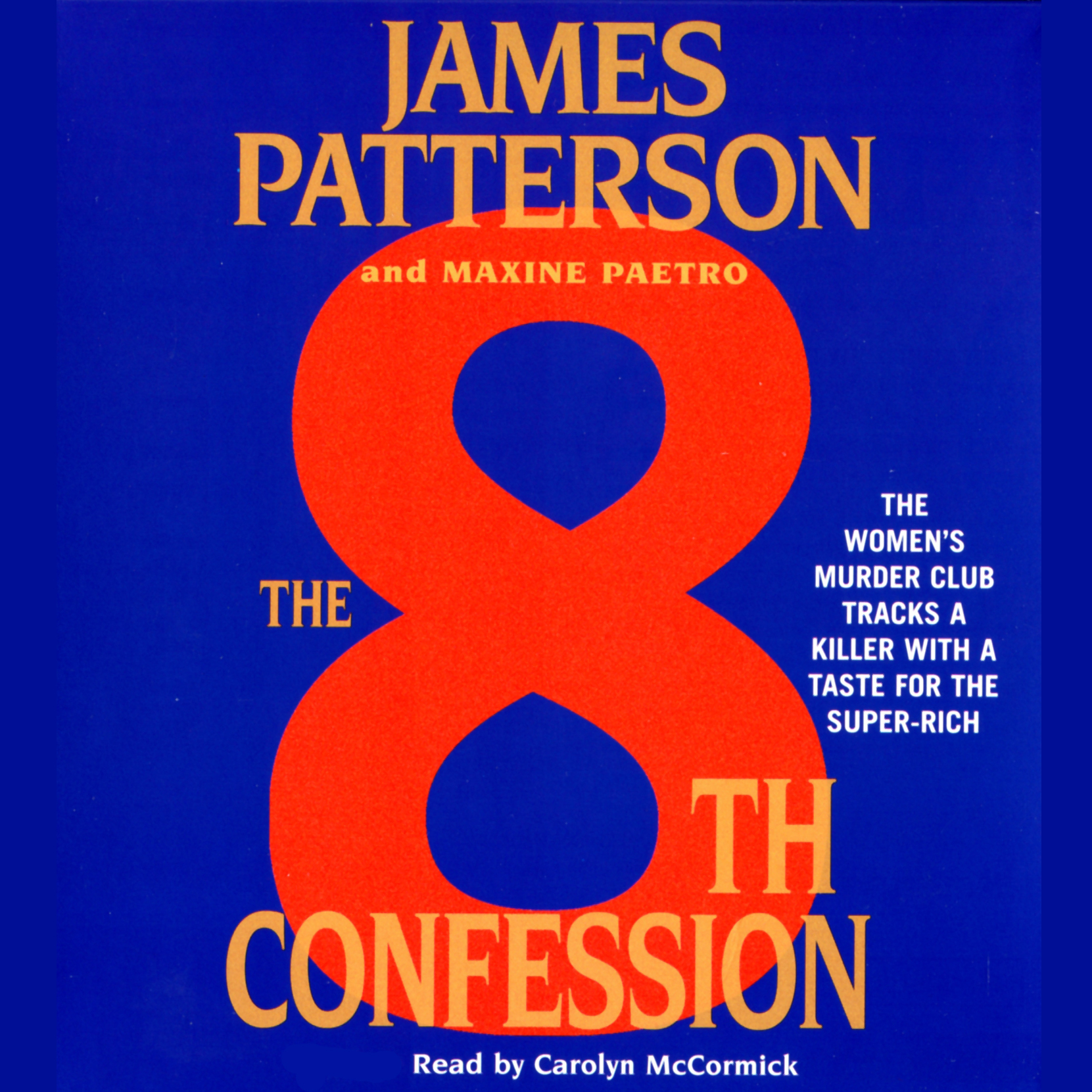 Printable The 8th Confession Audiobook Cover Art