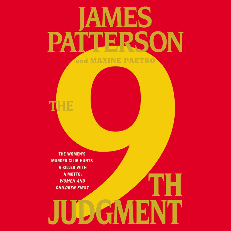 Printable The 9th Judgment Audiobook Cover Art