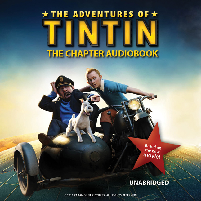 Printable The Adventures of Tintin: The Chapter Audiobook Audiobook Cover Art