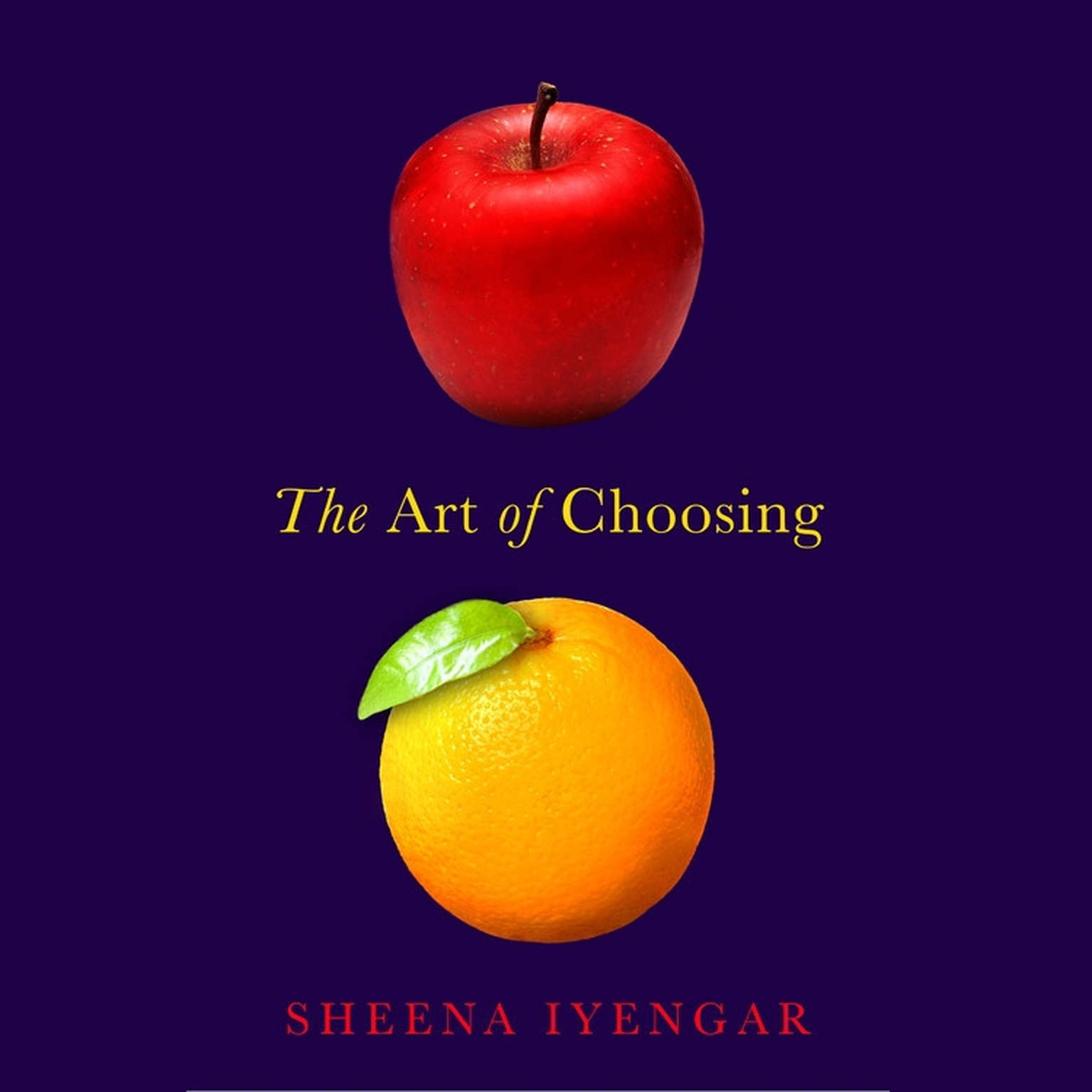 Printable The Art of Choosing Audiobook Cover Art