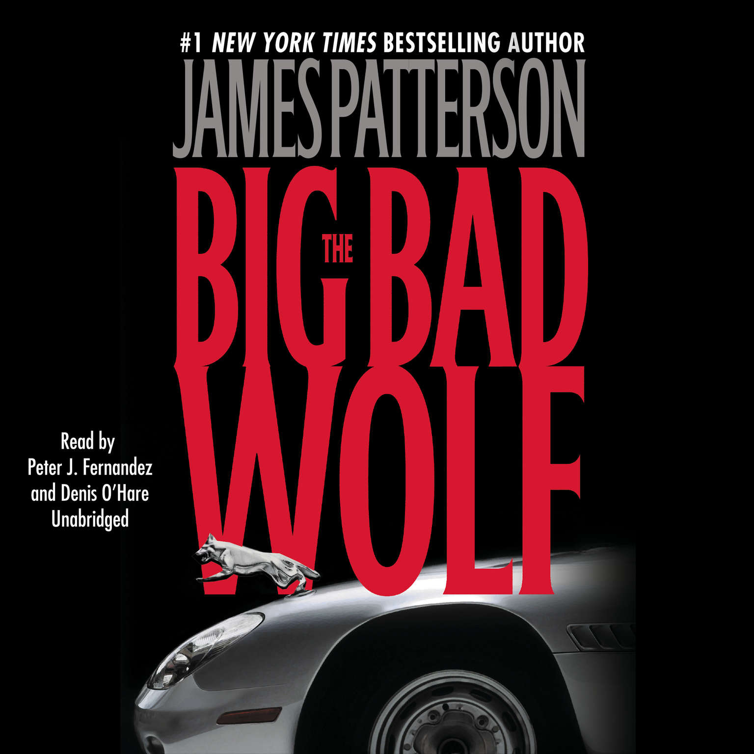Printable The Big Bad Wolf Audiobook Cover Art