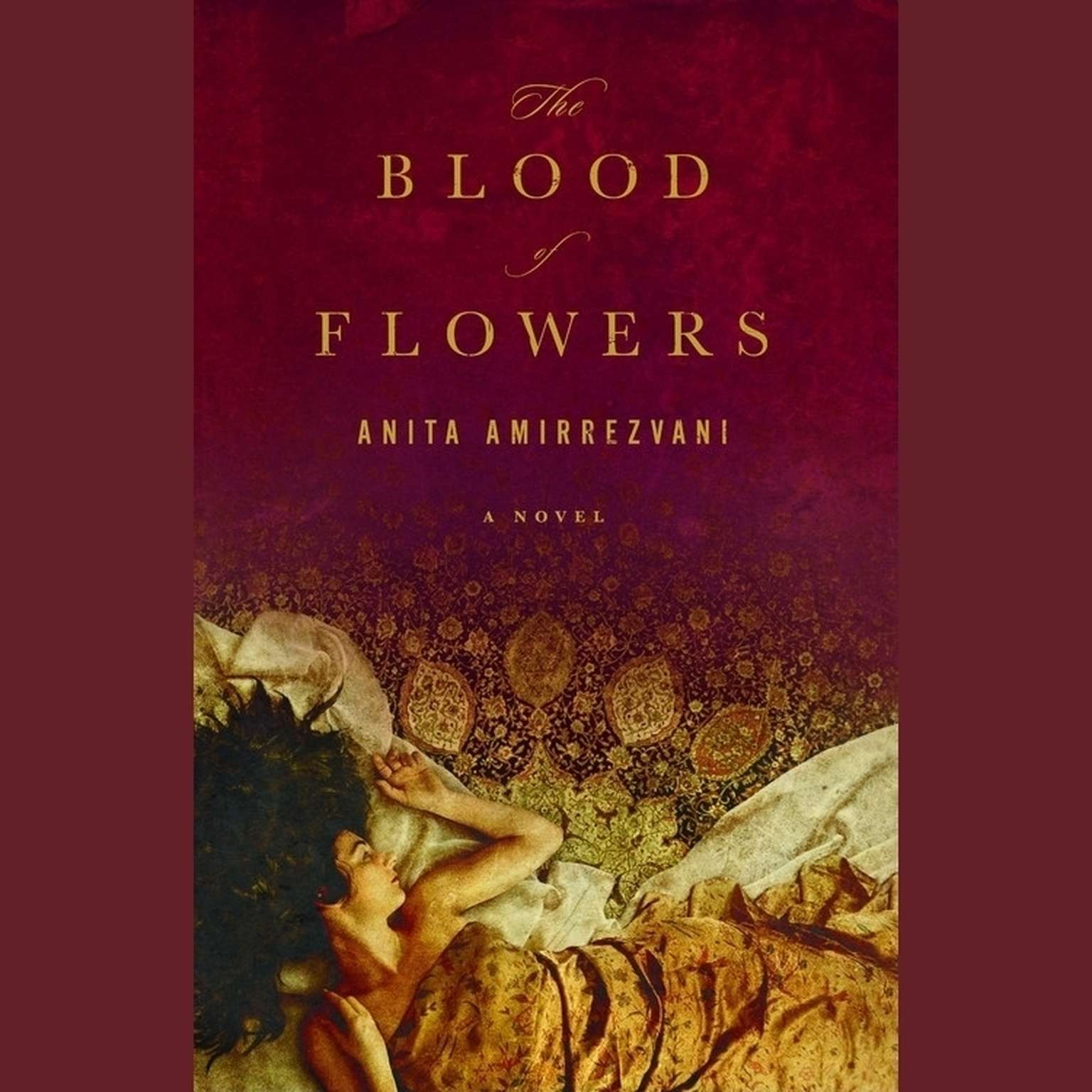 Printable The Blood of Flowers: A Novel Audiobook Cover Art