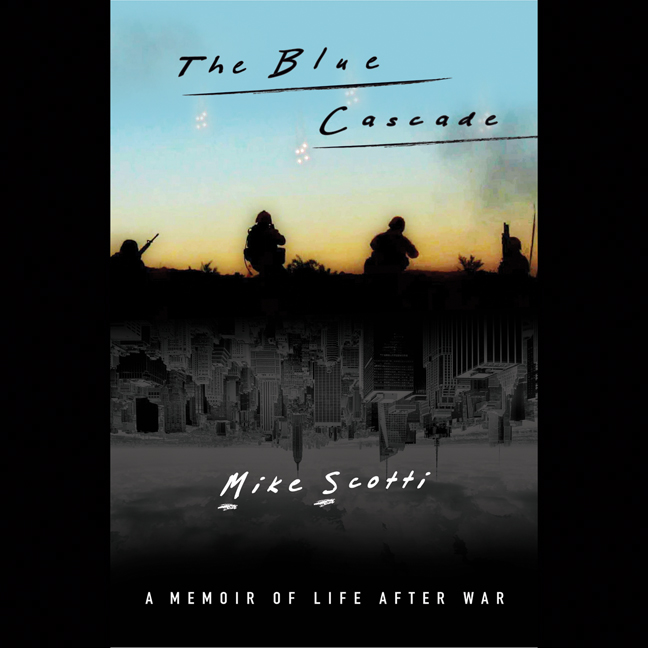 Printable The Blue Cascade: A Memoir of Life after War Audiobook Cover Art