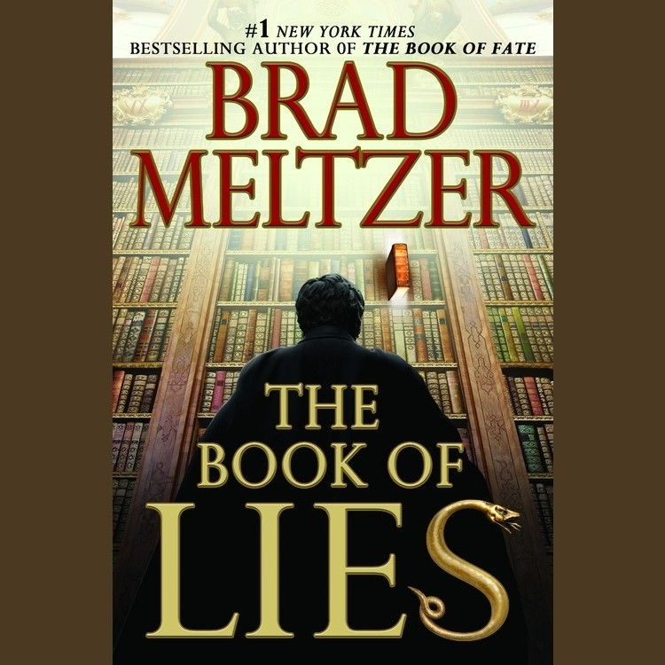Printable The Book of Lies Audiobook Cover Art