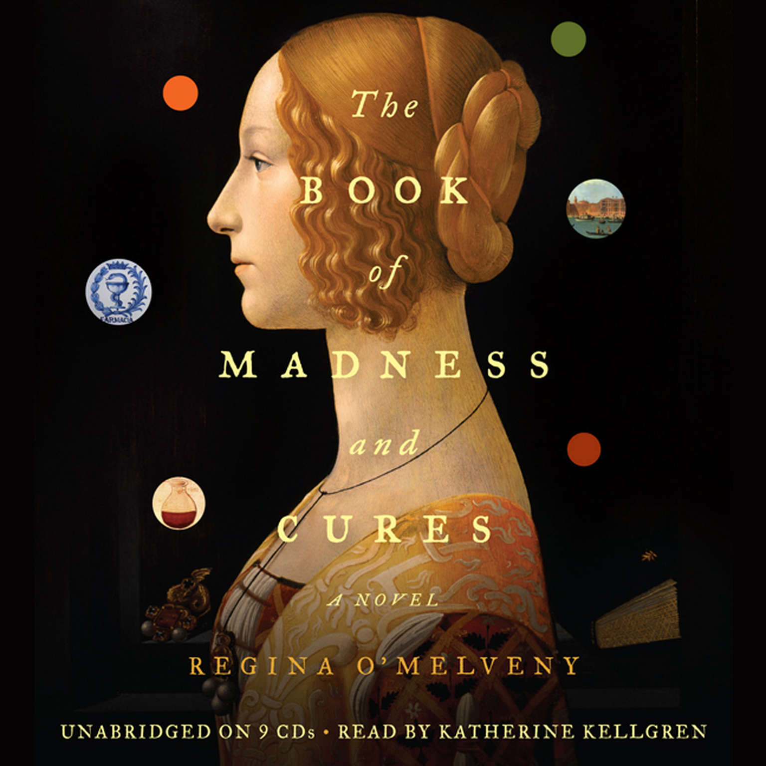 Printable The Book of Madness and Cures: A Novel Audiobook Cover Art