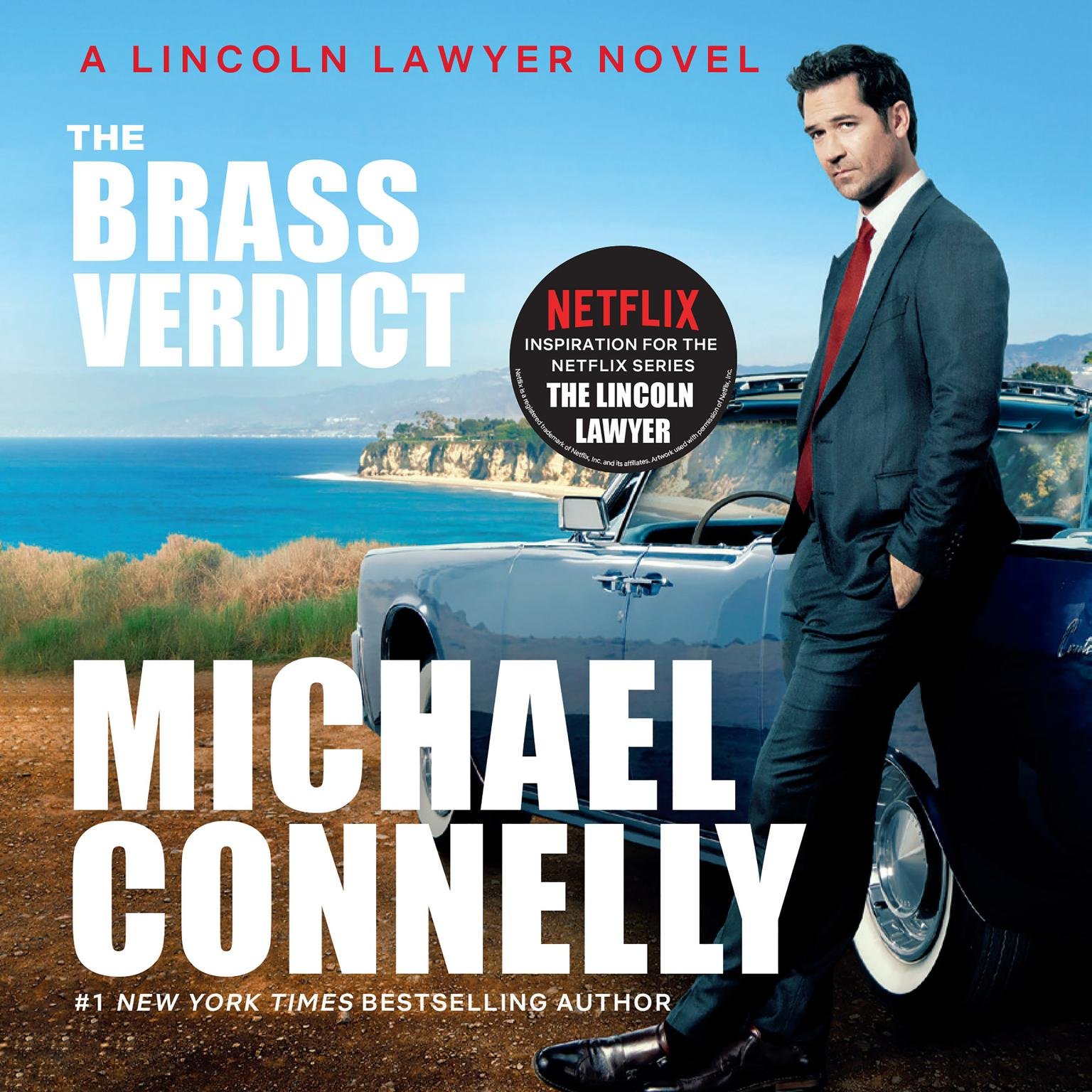 Printable The Brass Verdict: A Novel Audiobook Cover Art