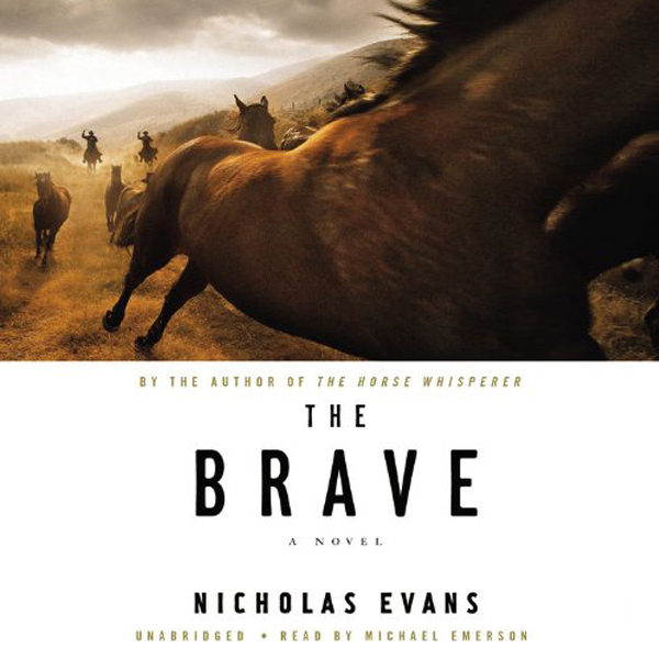 Printable The Brave: A Novel Audiobook Cover Art