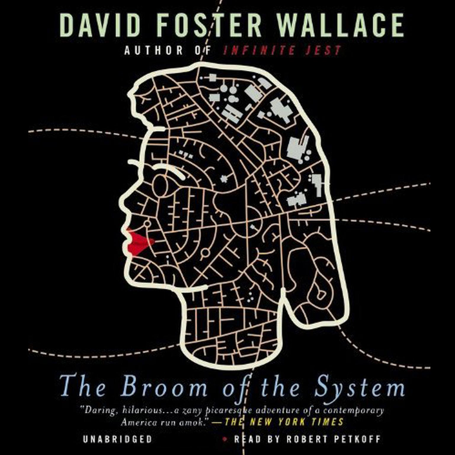 Printable The Broom of the System: A Novel Audiobook Cover Art