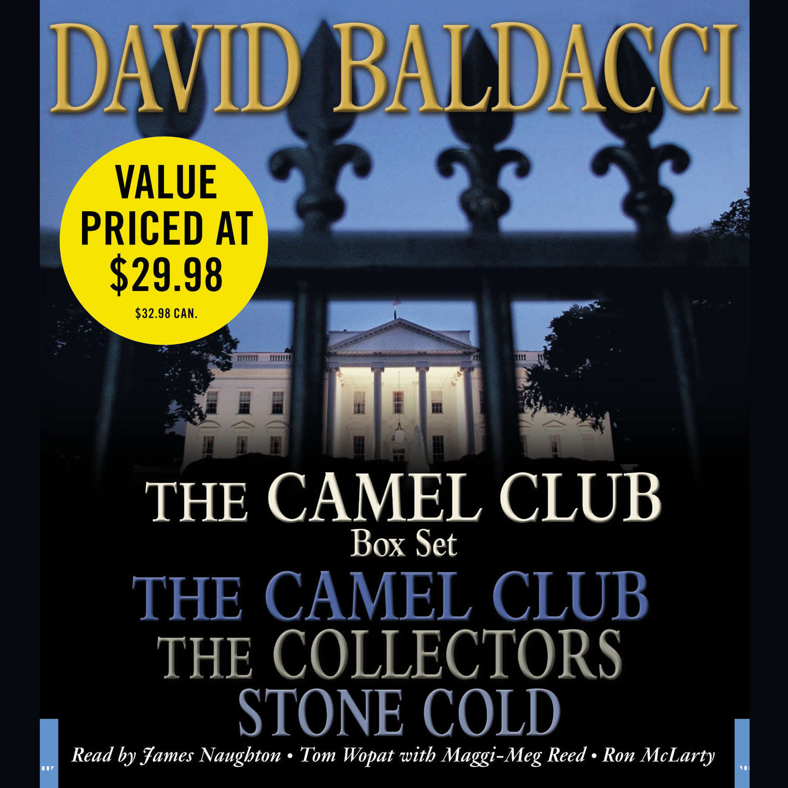 Printable The Camel Club Audio Box Set Audiobook Cover Art