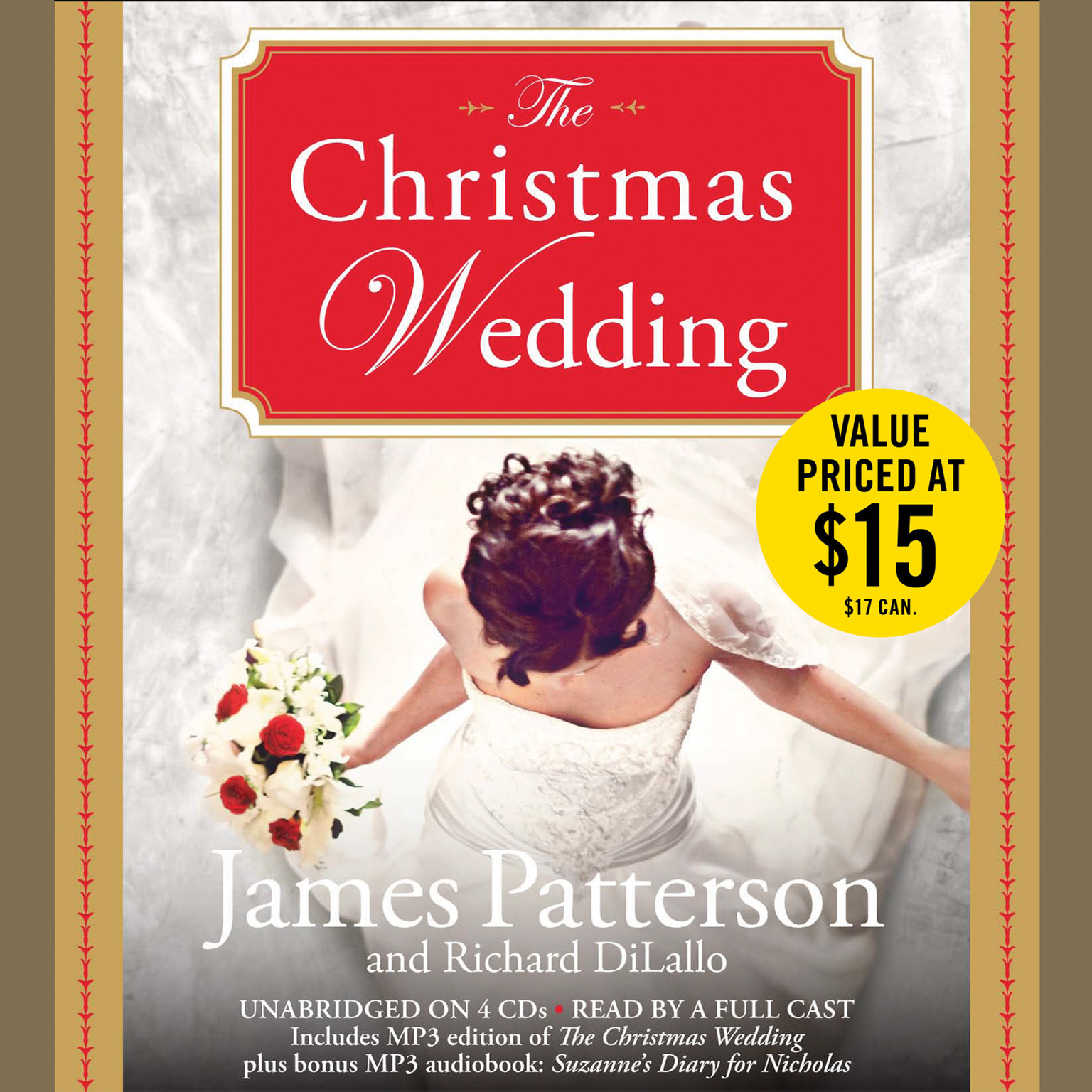 Printable The Christmas Wedding Audiobook Cover Art