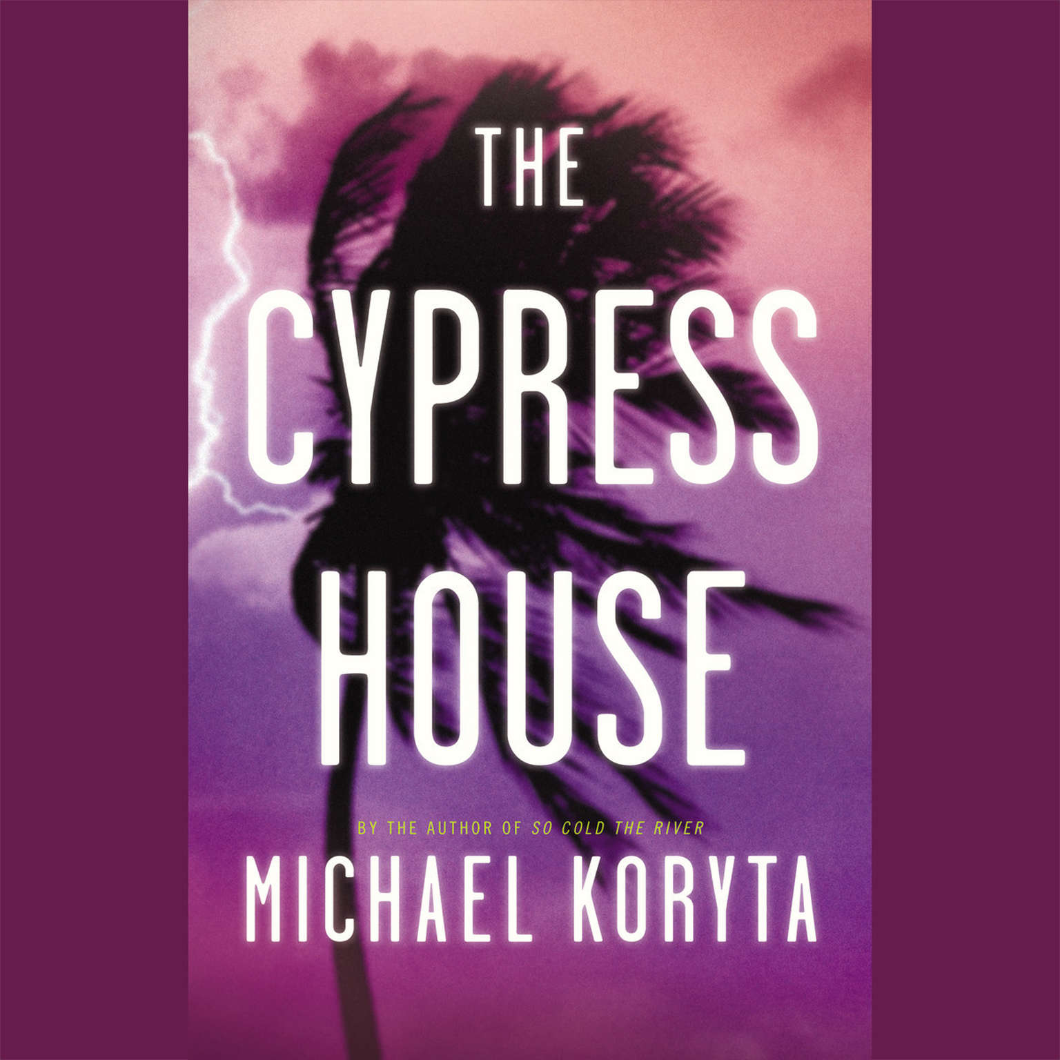 Printable The Cypress House Audiobook Cover Art