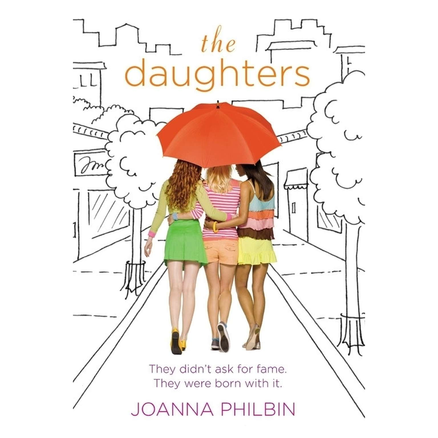 Printable The Daughters Audiobook Cover Art